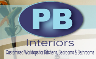 PB Interiors Logo- The Worktop Man